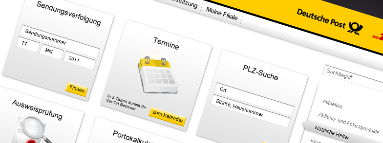 Projekt Deutsche Post Intranet Portal