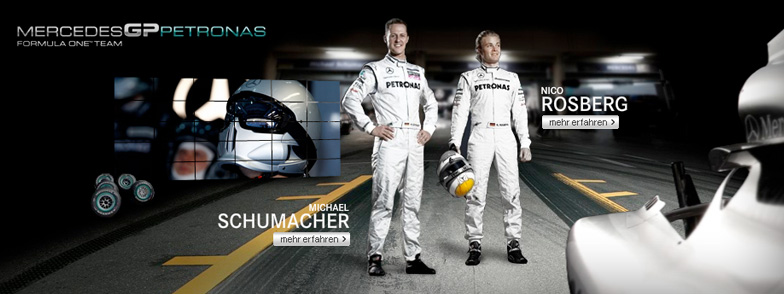 Projekt Mercedes GP Petronas Website
